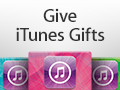 Email gift card from Apple iTunes